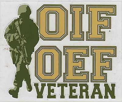 Operation Iraqi Freedom/Operation Enduring Freedom Veteran Decal