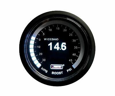 Prosport 52mm OLED Wideband AFR and Boost gauge PSI inc Bosch lambda sensor