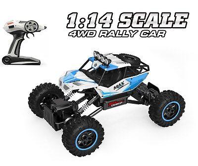 RC 1:14 Rock Crawler MAX 4WD ferngesteuert Auto 33 cm lang 20+km/h Metal Antrieb