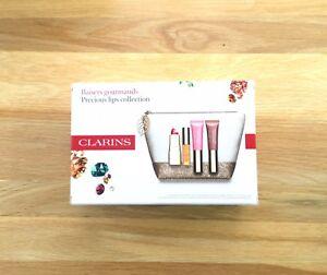 Bnib Clarins  Makeup Bag And Precious Lips Collection Gift Set