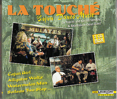 COFFRET 2 CDs 38t LA TOUCHE AND KERMIT VENABLE CAJUN DANCE MUSIC 2001 (Touch Coffret)