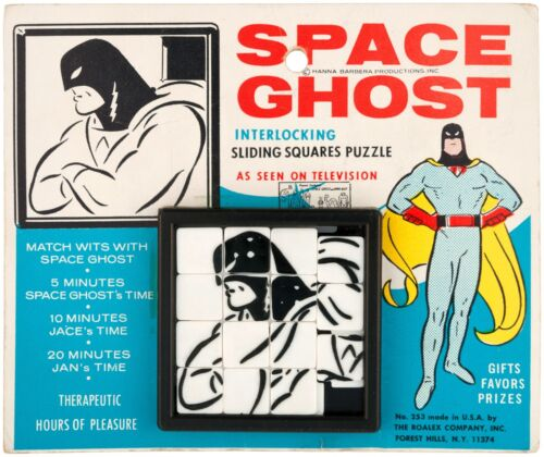 SPACE GHOST ROALEX SLIDE PUZZLE 1960