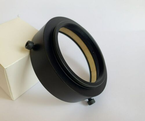 71mm to M65 x1 Metal Thread Adapter  w/ Protection Circle For Schneider Cinelux