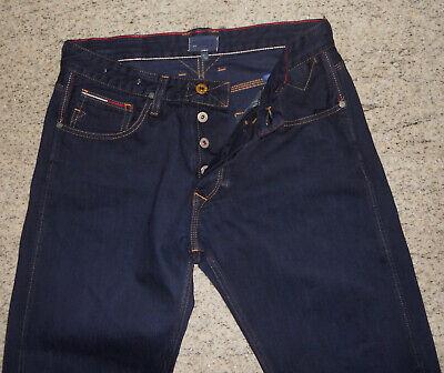 Tommy Hilfiger Denim RONAN Michigan Raw Jeans W31/L30 Dunkelblau TOP Zustand