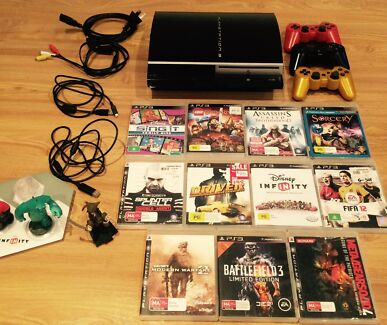 Playstation 3 • 11 games • Good Condition Adelaide Region Preview