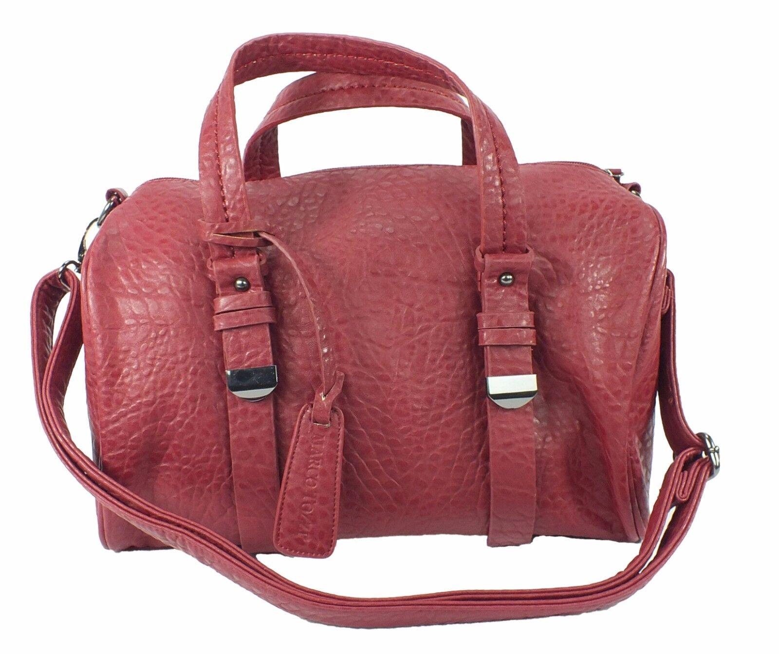 Marco Tozzi Handtasche Henkeltasche bordeaux rot oder braun 898