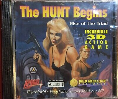 Rise of the Triad: The Hunt Begins *PC software, 1994 The best PC game ever (The Best Gaming Pc Ever)