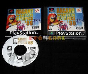 Detalles de NAGANO WINTER OLYMPICS '98 Ps1 Versione Ufficiale Italiana