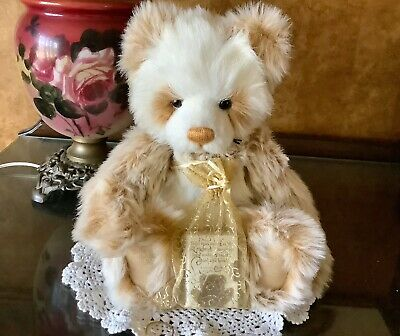 """Vintage Charlie Bears Isabelle Lee """"Retired"""" Jodie Bear"""