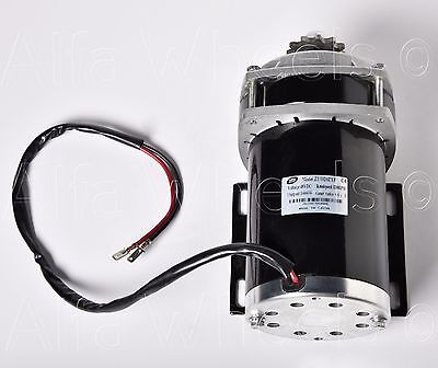 500 Watt 24 Volt GEARED 6:1 electric motor+Controller f Quad Trike Go-Kart DIY