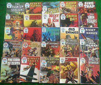 25 War Picture Library Comics Random Lot Battle Commando Please Read