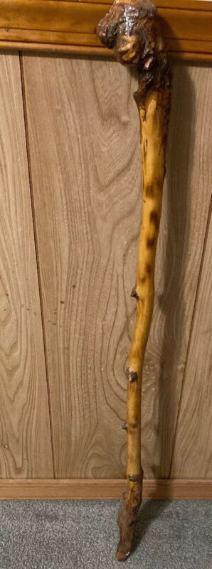 "35"" Shillelagh Celtic Walking Stick Cane Hand Made!!!!!!"
