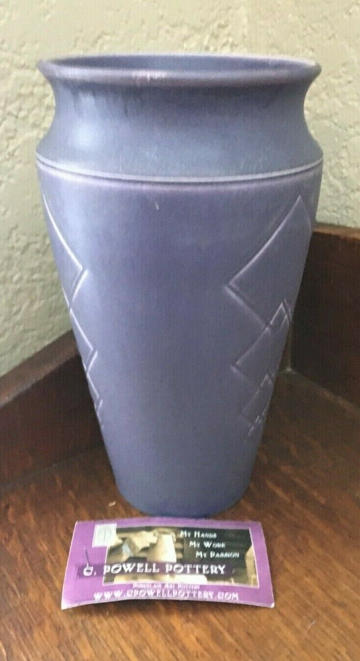 CHRIS POWELL POTTERY - 2010 ONE-OF-A-KIND VASE - $175.00