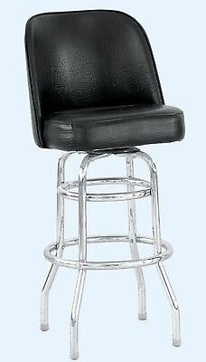 Bucket Seat Metal Bar Stool