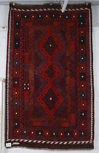 Afghan Hand Knotted Miminah Wool Kilim Rug 148 cm x 247 cm