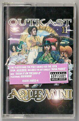 OUTKAST Aquemini SEALED Down South Rap G-Funk Tape Raekwon Goodie Mob 1998