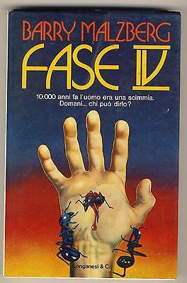 MALZBERG BARRY FASE IV LONGANESI 1977 LA GINESTRA 145 I° EDIZ.