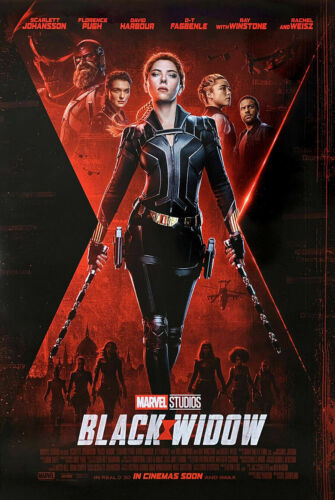 Black Widow - original DS movie poster 27x40 D/S - 2019 INTL  Avengers