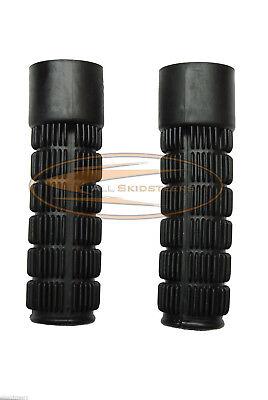 For Bobcat Rubber Grips Set S100 S130 S150 S160 S175 S185 S205 Skid Steer Bar