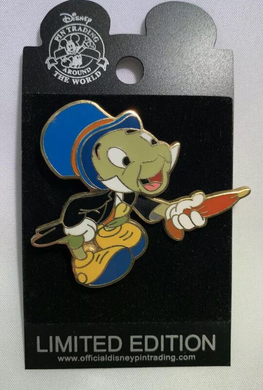Jiminy Cricket Moving Umbrella Slider 2003 LE Superstar Trading DIsney Pin