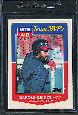 1988 Topps Rite Aid Harold Baines  16 Mint