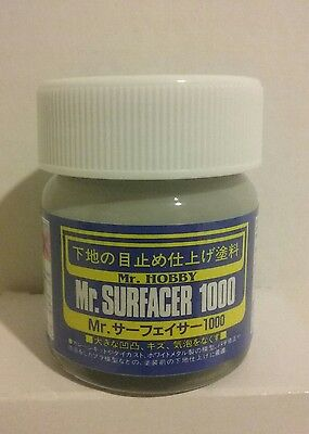 Mr  Hobby Sf 284 Mr  Surfacer 1000  40Ml
