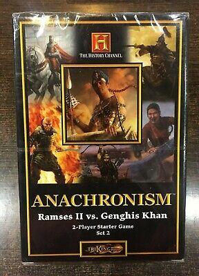ANACHRONISM Ramses II vs Genghis Khan 2 Player starter
