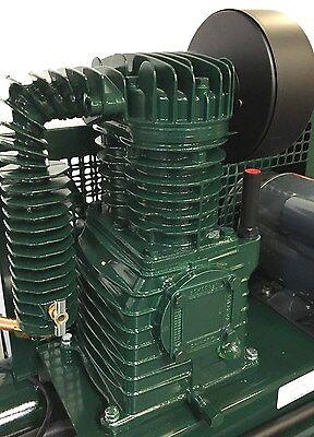 Rolair 4090k17 1.5--2--3 Hp Single Stage Air Compressor Pump W Flywheel K17