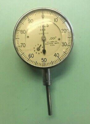 Ames No. 282 Dial Indicator .001 1 Range