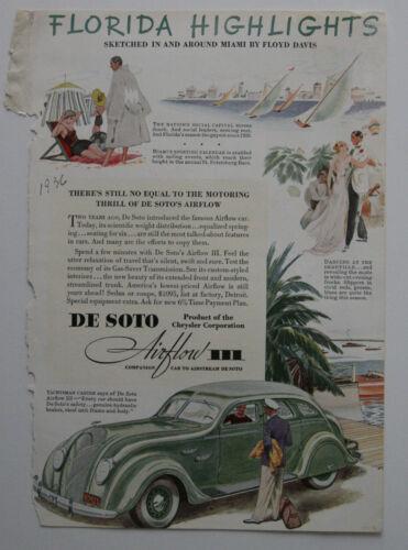 DE SOTO Airflow 1932 magazine advertisement - English - USA - ST501000518