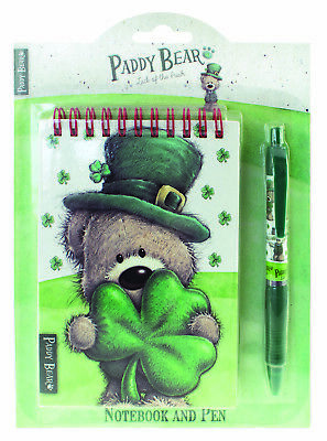 Notebook and Pen Set Paddy Bear Ink Pen Spiral-Bound Notebook](Notebook And Pen)
