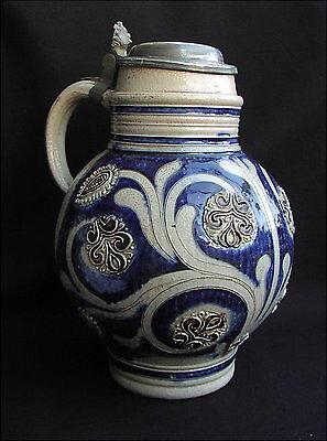Antiker Kugelbauchkrug Westerwald 18 Jahrhundert