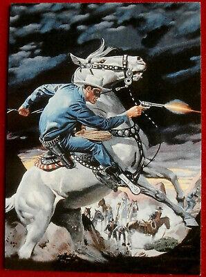 THE LONE RANGER - Card #04 - Dart 1997 - LEGENDARY MARKSMAN