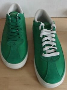 WESC Skateboard Shoes UK 8 NEW Skate Trainers Green & White