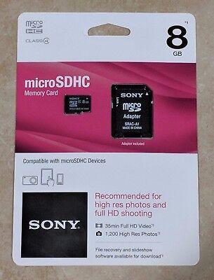 Карта памяти Sony 8GB Micro SDHC