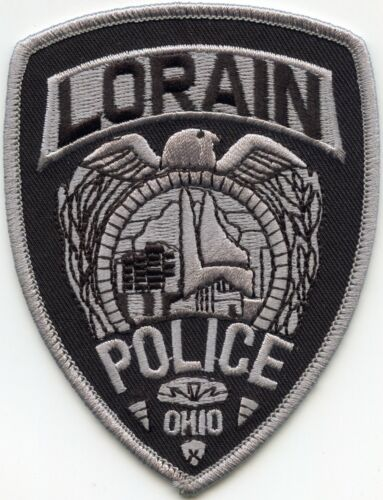 LORAIN OHIO OH SUBDUED POLICE PATCH