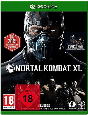 Mortal Kombat XL - Xbox One Spiel - NEU OVP