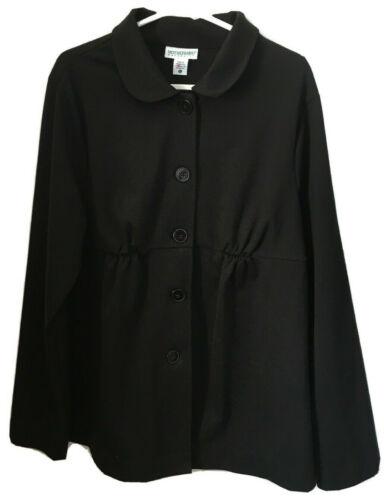 Motherhood Maternity Women's Large Lightweight Jacket Black Jersey