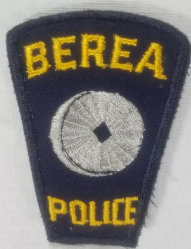 Berea Ohio Police Department Patch
