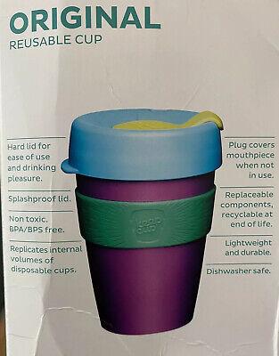 KeepCup Changemakers Original Re-Useable Coffee Cup Travel Mug 340ml 12oz Purple