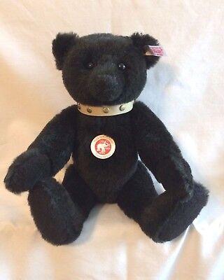 Steiff - Alpaca Teddy Bear  With Tan Collar - EAN # 038365 - Limited Edition