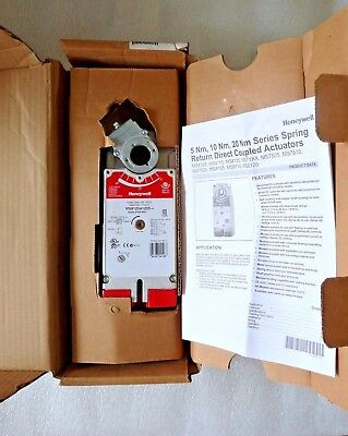 Honeywell Ms8120a1205 S024-2p0s-sw2 Direct Coupled Damper Actuator 2 Pos New