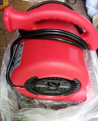 Air Mover 14 Hp Carpet Dryer Floor Blower Fan Home Built-in Power Outlets