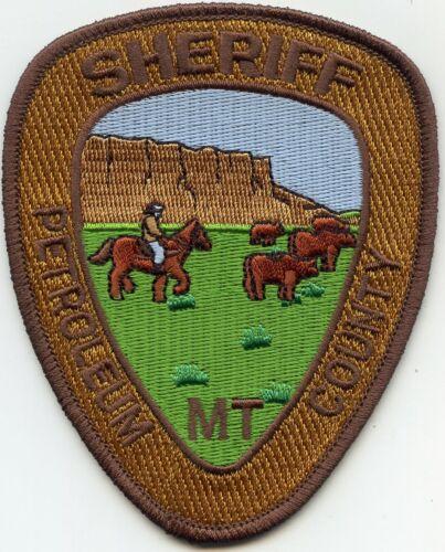 PETROLEUM COUNTY MONTANA MT SHERIFF POLICE PATCH