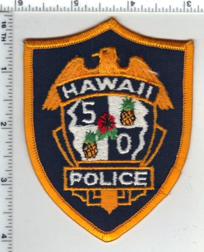 Hawaii 50 Police 2nd Issue Shoulder Patch