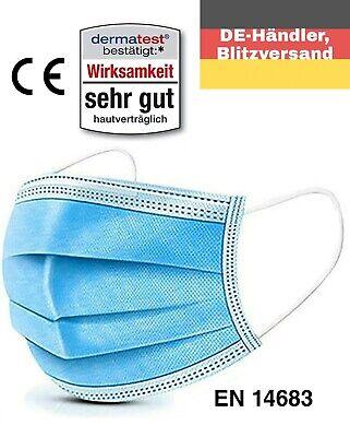 100x Medizinische Mundschutz Maske Type 2R Chirurgische Atemschutzmaske OP-Maske