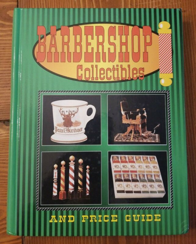 Barbershop Collectibles And Price Guide c. 1996, Illustrated Hardcover