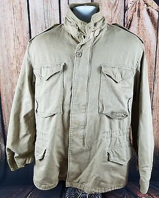 ALPHA Military Field Coat Cold Weather 8415-01-099-7839 Medium Regular USA MADE