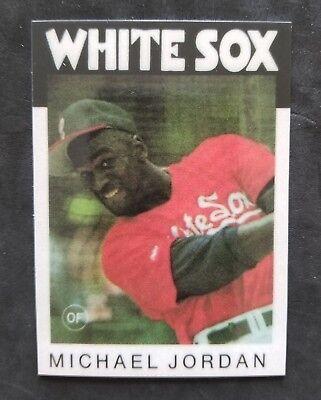 Michael Jordan Chicago White Sox oddball Baseball Card Free -