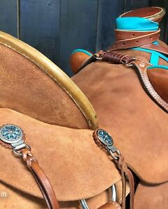 Custom Roughout Wade Saddle - Ranch/Trail/Training/Buckaroo/Roping